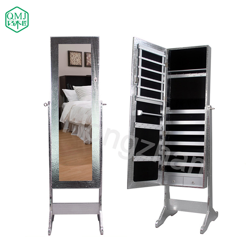 ... silver furniture mirrored Storage for Makeup Organizer Makeup Cabinet