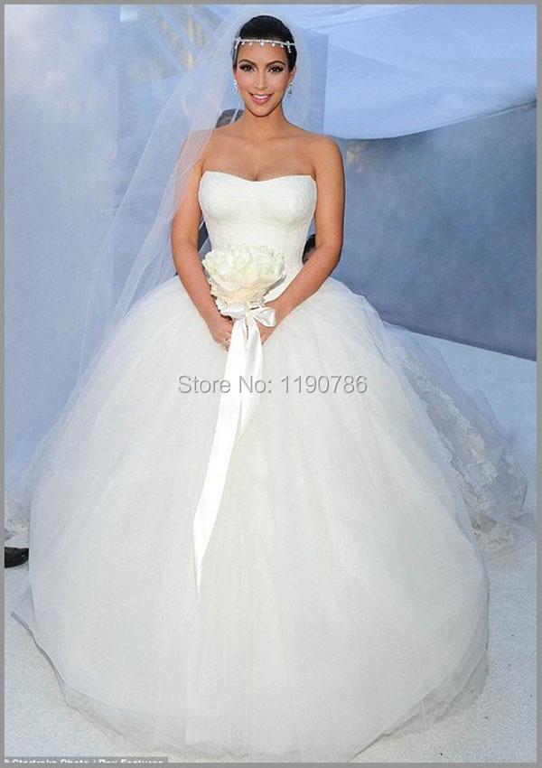 ... robe de mariage-in Wedding Dresses from Weddings & Events on