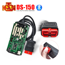A+ Quality ds cdp+ 150 TCS cdp With bluetooth single green PCB 2014.3 software free keygen cdp+ car / trucks diagnostic tool(China (Mainland))