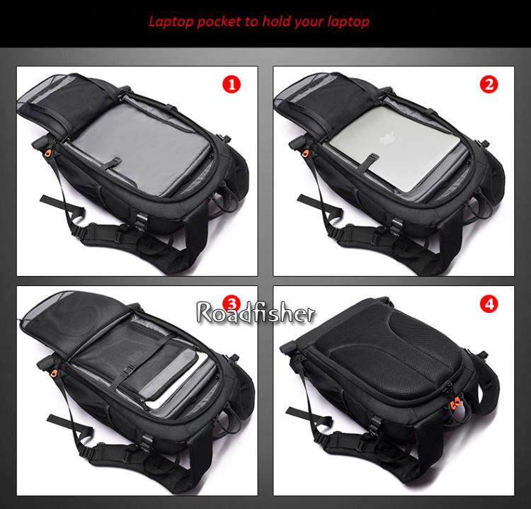 Camera backpack bag 9