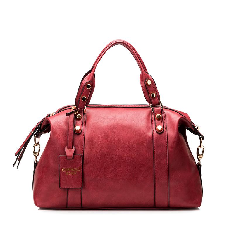 Здесь можно купить  2015 Genuine Leather Handbags Luxury Women Brand Bag Women