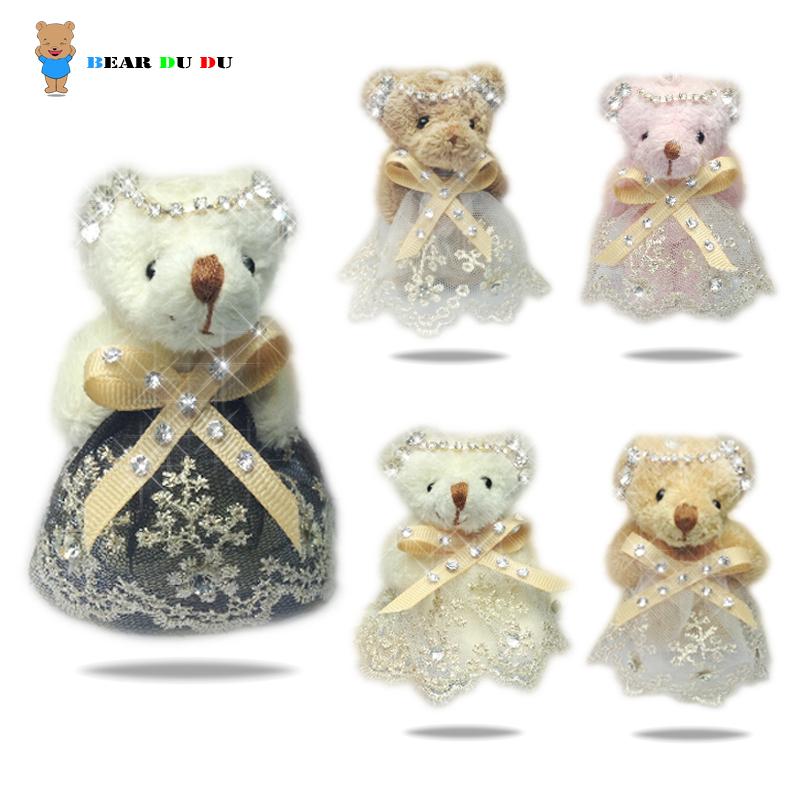 2014 Wedding Decoration Teddy Bear Plush Toy Valentine's Christmas Gift Festival Animals Bear Cartoon Bouquet Doll Free shipping(China (Mainland))