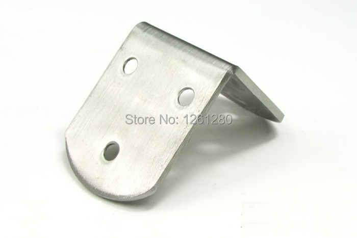free shipping 5 5 3 8cm metal corner bracket stainless steel furniture corner hardware part fitting