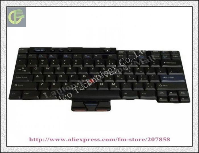 "New Keyboard for Lenovo/IBM ThinkPad 14"" T40 T41 T42 T43 / R50 R50e R51 R51e 39T0550 laptop keyboard US version(China (Mainland))"