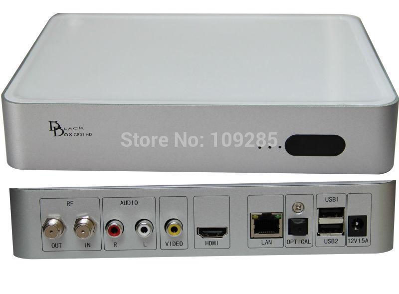 2015 Latest Singapore cable TV box Blackbox C801 HD box, newer than Blackbox hd- C808 plus 4K or 4000,. For HD channels(China (Mainland))