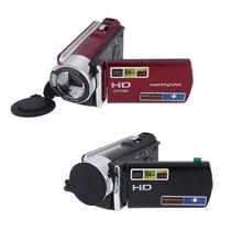 "New 1080P HD 16MP 16x Digital Video Camcorder Digital Zoom DV Camera Kit with 2.7"" LCD Screen HDV-614A Black/Red(China (Mainland))"