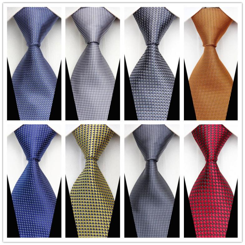 CON80 2015 Man New Fashion Accessories Striped Jacquard Woven Classic Business Silk Tie Casual Tie for Men Black Blue Red Green(China (Mainland))