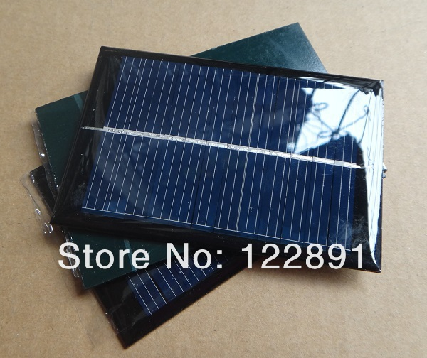 Wholesale!100pcs/lot Solar Panels 6v 100mA 0.6W Mini Solar Cell 60x90x3MM For Small Power Appliances Drop Shipping Free Shipping<br><br>Aliexpress