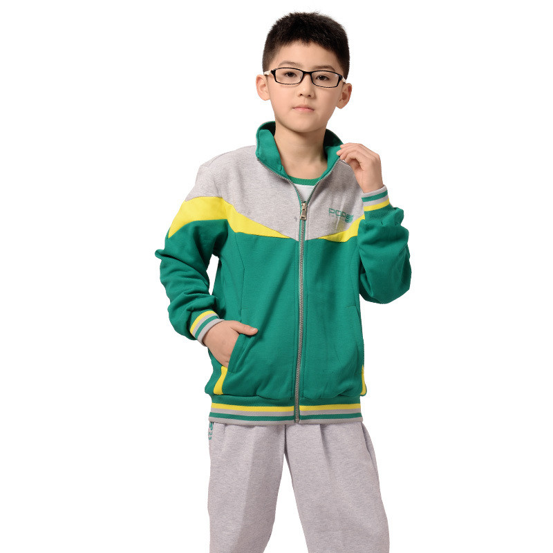 2015 spring and autumn young boys sports clothing sets for Dress shirts for athletic guys