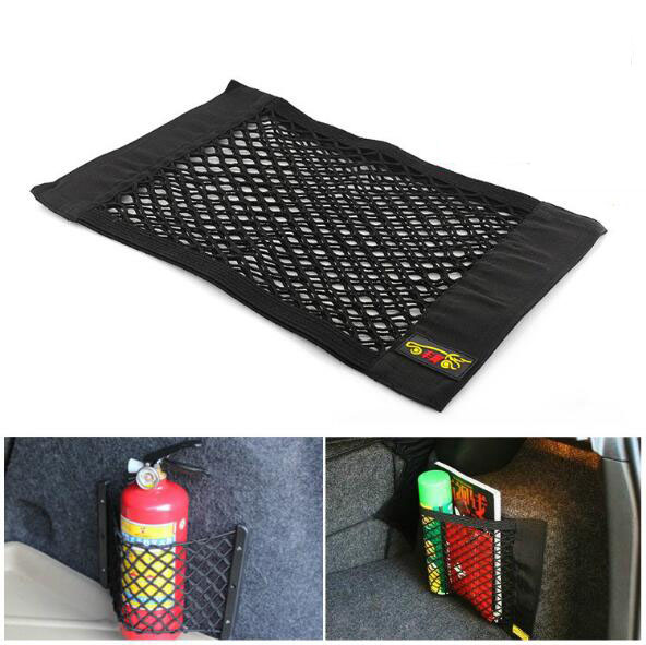 Car Mess Trunk Cargo Net Organizer Storage Holder Car Styling Luggage Holder Pocket Sticker Trunk(China (Mainland))