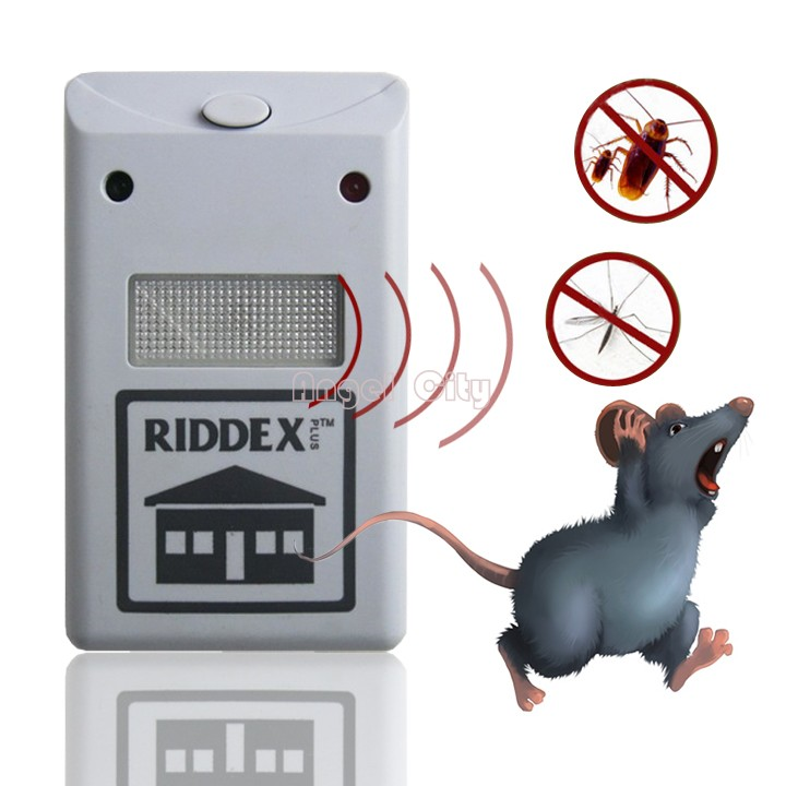 Ultrasonic Electronic Mouse Repeller Anti Mosquito Insect Reject Cockroach Pest Control Wholesale Retail 51(China (Mainland))