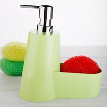 Cleaning detergent bottle wash cloth storage water kitchen glove resin green(China (Mainland))