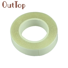 2017 Hot 1 roll of Wig double-sided adhesive tape for tape hair and PU skin weft hair extension attaching Mar29(China (Mainland))