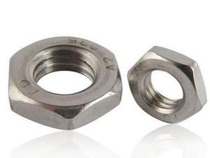 Hex Thin Nuts, Jam Nut M16 Stainless Steel 50 Pcs<br><br>Aliexpress