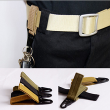 Outdoor tactical nylon molle webbing belt buckle hanging carabiners metal hook(China (Mainland))