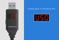 New Intelligent Digital LCD Display Charging Voltage Current Data Cable For Samsung LG Android Phone For