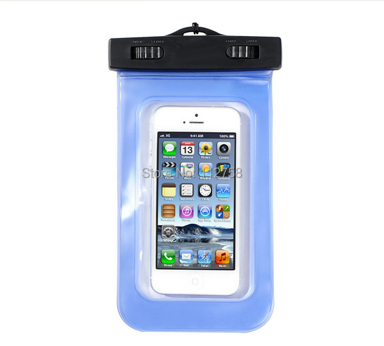 New Waterproof PVC Diving Bags Underwater Pouch Case Cover For iphone 5 5s phone bags for iphone5 itouch 5 With Arm band(China (Mainland))