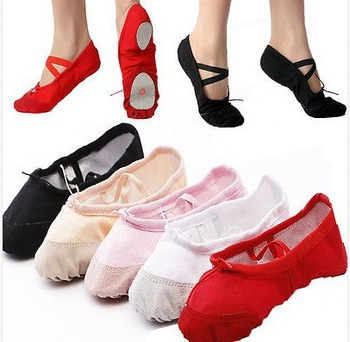 Pls Check in posting Special Size convert 22-45 soft sole girls ballet shoes Women Ballet Dance Shoes ladies flats child adult(China (Mainland))