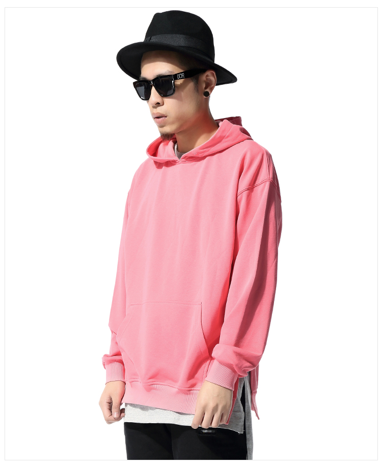 Men Pink Hoodie | Fashion Ql