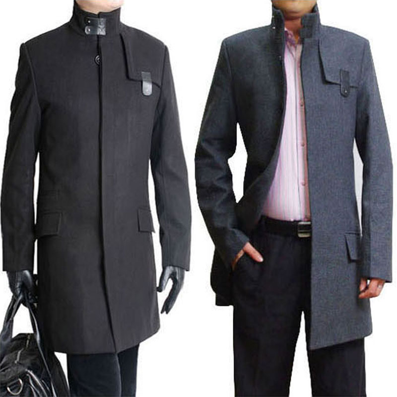 Images of Mens Long Coats - Reikian