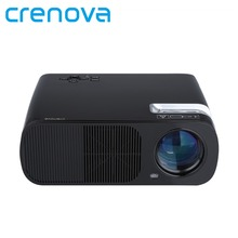 Crenova XPE600 Brightness 2600Lumens Long life LED Full HD LED Business Travel Outdoor projector   For TV Computer Mobile Phone(China (Mainland))