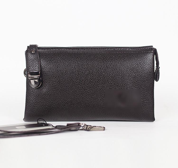 Hot!! 2015 fashion man handbags, business casual leather men wallets(China (Mainland))