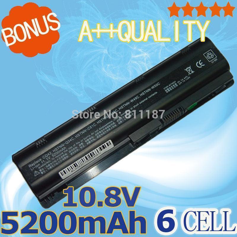 5200mAh battery  for HP pavilion dv3  dm4  dv5  dv6  dv7 g4 g6 g7  for Compaq Presario CQ42 CQ32 G42 G62 G72 mu06<br><br>Aliexpress