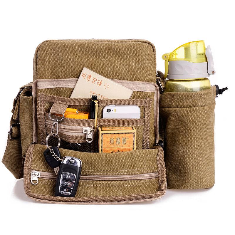 HOT 2014 new arrive hot promotion men messenger bags shoulder bag canvas travel sport men bag high quality men's travel bags
