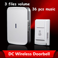Wireless door bell 280M Effective Waterproof Receiver doorbell Prevent Signal interference door Ring
