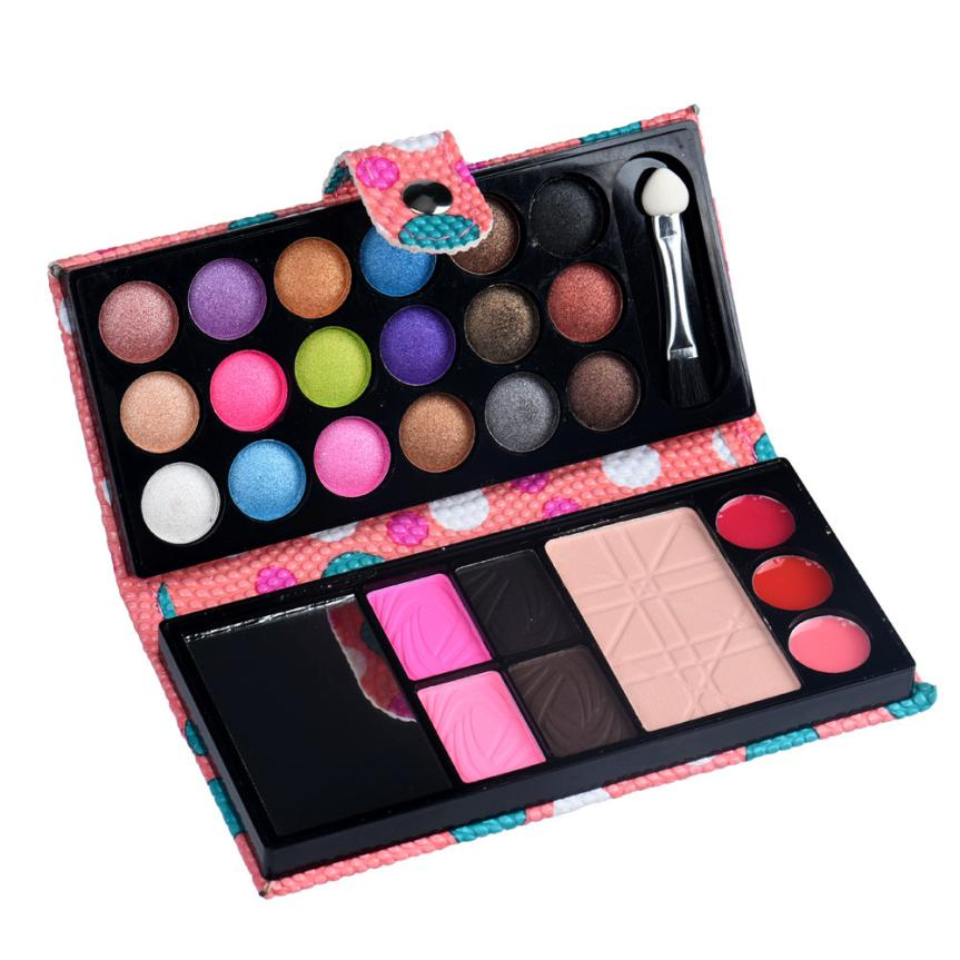 26 Professional Pigment Matte Eyeshadow Set for Women Nude Make Up Palette Cosmetic Shimmer Makeup Eye Shadow Palette #3546(China (Mainland))
