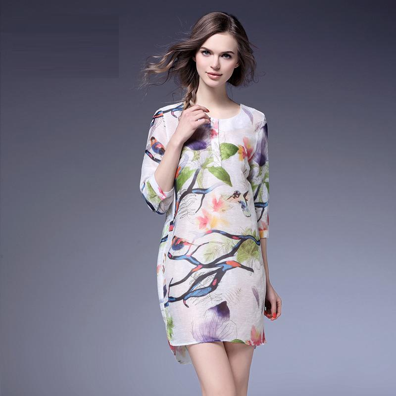 Best Quality Dress New Luxury Design 2016 Spring Summer Women Hollow Out Embroidery Lantern Long Sleeve White Dress Cute SweetОдежда и ак�е��уары<br><br><br>Aliexpress