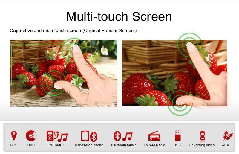 Купить KANOR 1024*600 Android 5.1 автомобиль dvd gps Для Mazda 6 Ruiyi Ultra 2008 2009 2010 2011 2012 Авторадио Мультимедиа Аудио стерео