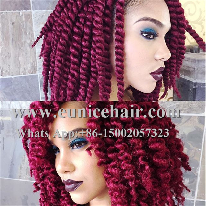 "12"" 14"" havana mambo twist braid Synthetic Hair Crochet braiding 2X ..."