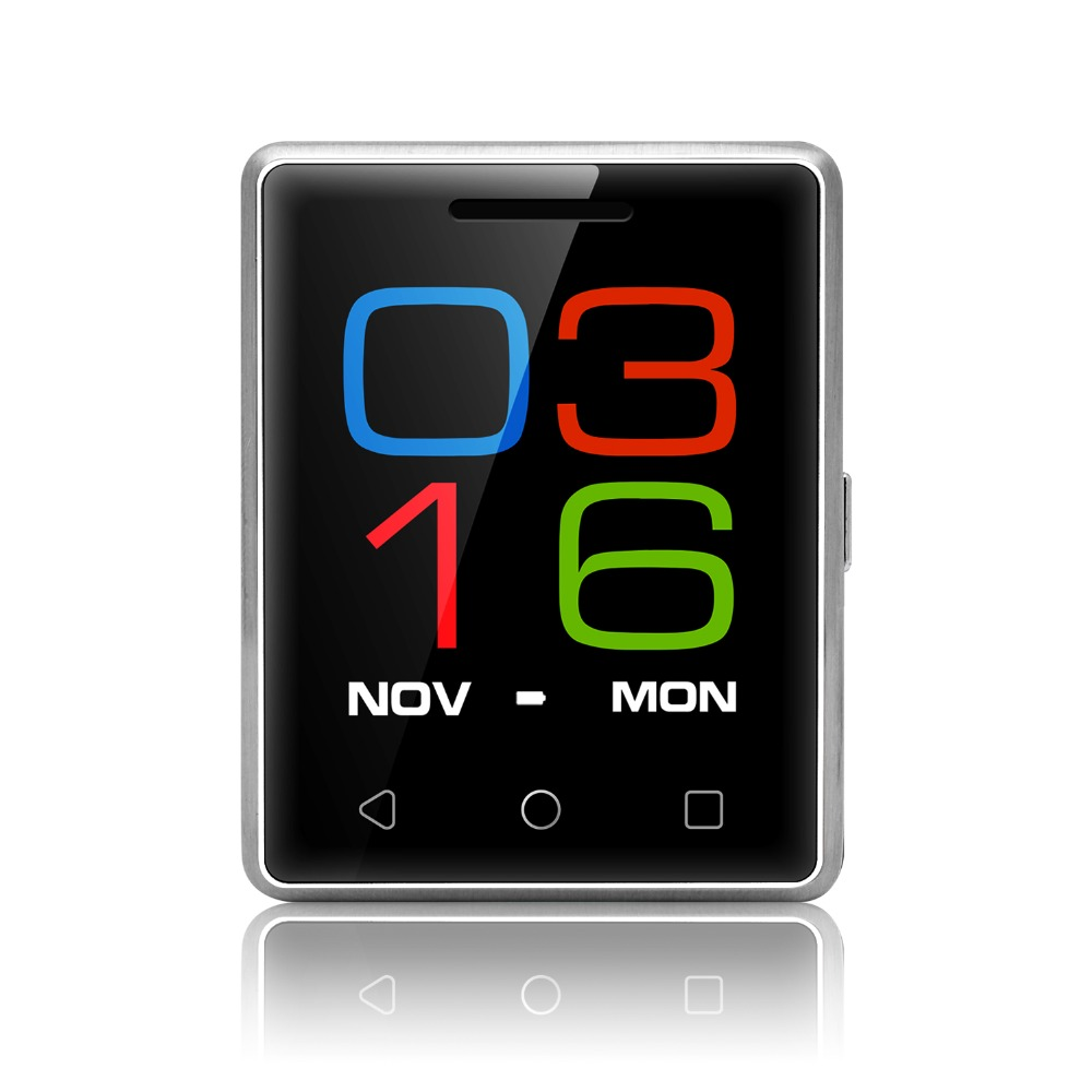 "Original S8 Smartwatch MTK2502 1.54"" 2.5D Touch Screen Bluetooth 4.0 380mAh Pocket Smart watch Also like Mini Phone Mobile Phone(China (Mainland))"
