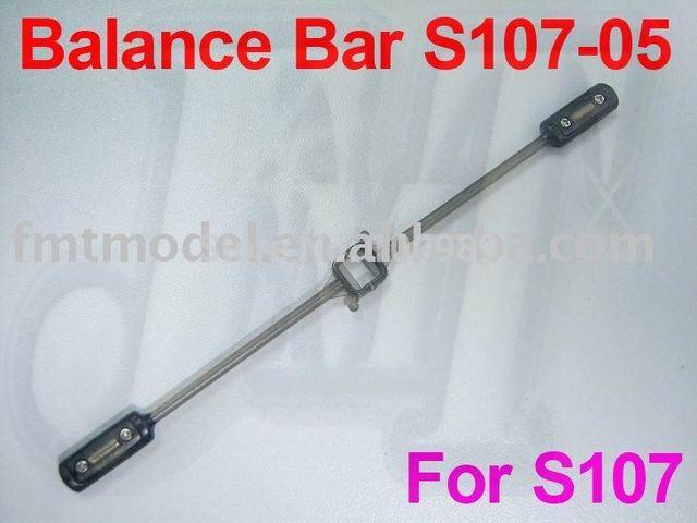F00851 Balance Bar Pole part S107-05 For Syma Metal Alloy S107G S105G + FS