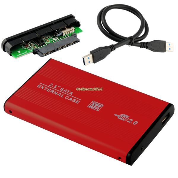 2.5 inch SATA HDD Box USB 2.0 HDD Hard Drive Disk SATA External Storage Enclosure Box Case Drop Shipping Wholesale EL5018(China (Mainland))