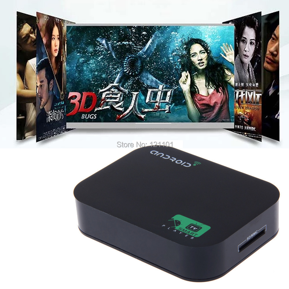 Smart TV box A20 Dual Core Google Android Allwinner Cortex-A7 1GB/4GB Flash XBMC Quad Core GPU Set Media Player 1080P WIFI HDMI(China (Mainland))