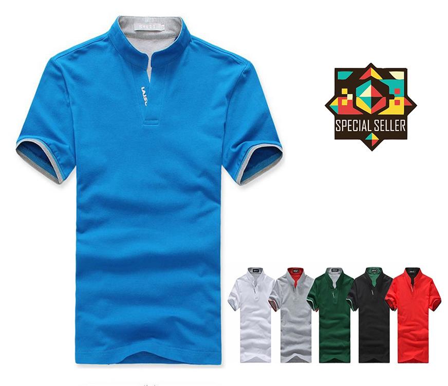 Polo 2015 summer style cotton short sleeve brand polo men for Polo brand polo shirts