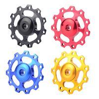 A8 MTB Mountain Bike Road Bicycle Rear Derailleur 11T Guide Roller Jockey Wheel VE375 P