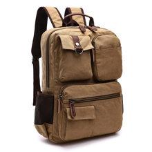 BEARAGHINI мужской рюкзак для ноутбука холщовый рюкзак школьные рюкзаки, сумки для путешествий для подростков мужской рюкзак сумка для компьюте...(China)