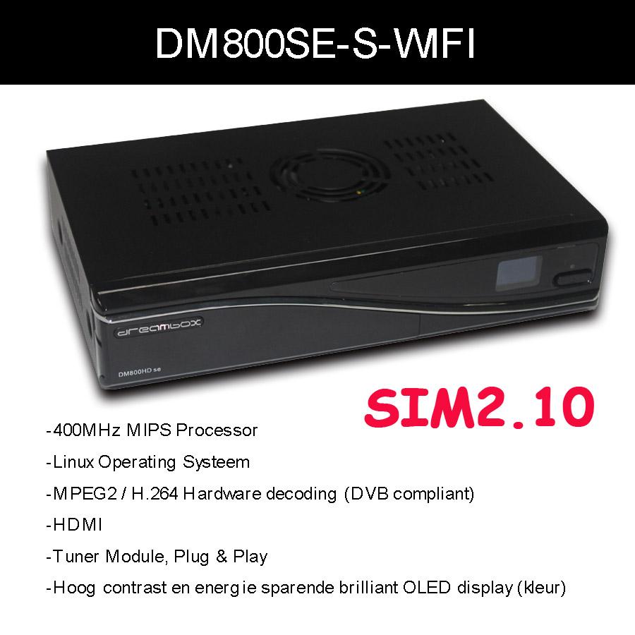 DM800hd себе медиаплеер ДМ 800hd SE с сим 2.10 оборотов Д11 Версия dm800se беспроводной спутниковый ресивер Санрей dm800 SE С 300 Мбит / с беспроводной