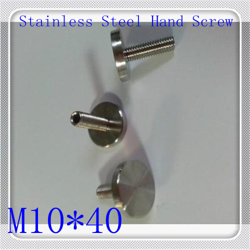 10pcs/lot High Quality Stainless Steel M10*40 Hand Tighten Screw<br><br>Aliexpress