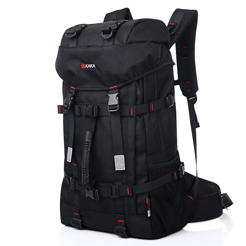 Waterproof Big capacity Double shoulder casual outdoor travel laptop bag tablet PC 55L hiking climbing camping bag backpack(China (Mainland))