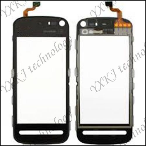 New Touch Glass Screen digitizer for Nokia 5800 XpressMusic B0019 P free shipping 2/lots(China (Mainland))