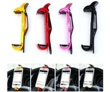 New Colors Car Bike Steering Wheel Cradle Smart Clip Mount Bracket Mobile Phone GPS Holder Cai0448(China (Mainland))
