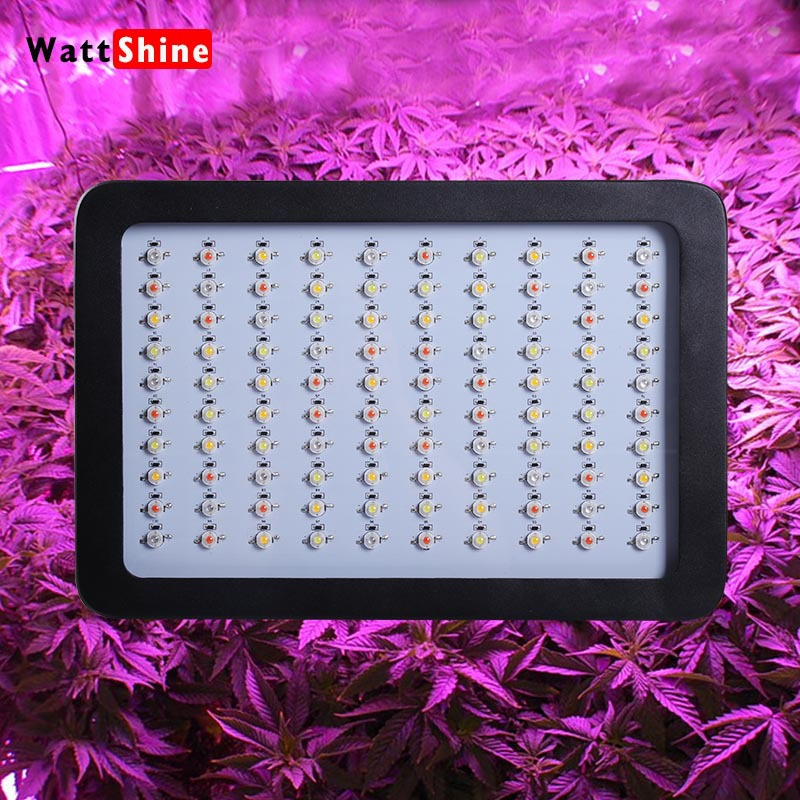 Super Blackstar 300w Led Grow Light with 100PCS 3W Led lamp Full Spectrum for Indoor Plant Veg Flower Greenhouse(China (Mainland))