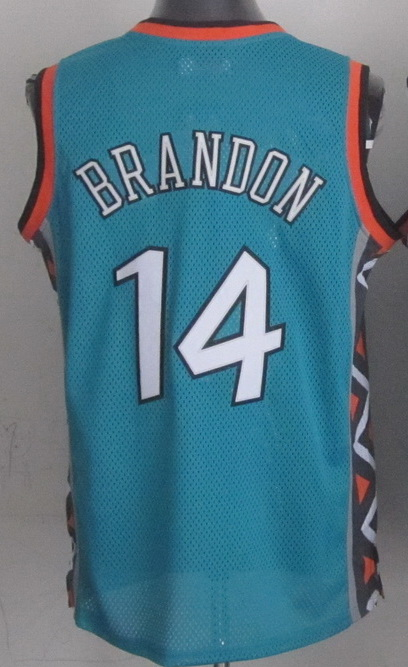 Classic East 1996 Terrell Brandon All Star Jersey Teal Road Basketball Jersey Stitched Terrell Brandon Jersey 96 All Star(China (Mainland))