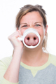 Free Shipping 1Piece The Innovative Pig Nose Mug Ceramic Coffee Cup Piggy Nosemug