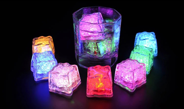 Color Changing LED Decoration Ice Cubes