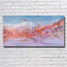 Buy Beautiful Hand Painted Oil Painting Canvas Abstract Oil Painting Modern Canvas Wall Art Living Room Decor Framed for $13.28 in AliExpress store